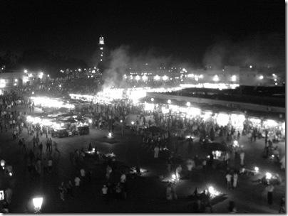 Le luci di Piazza Djemaa el Fna