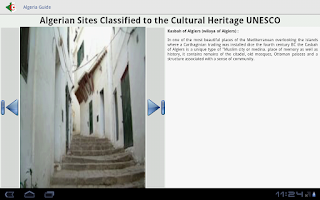 Screenshot of Algeria Guide Lite