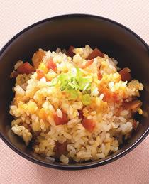 米食料理-南瓜火腿飯