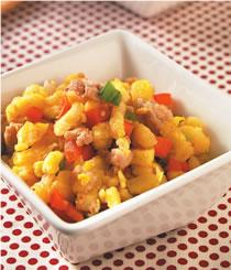 米食料理-炒土司飯