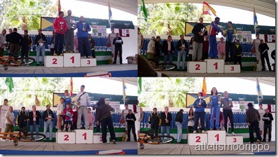 Podiums carrera olivares(Mayores)