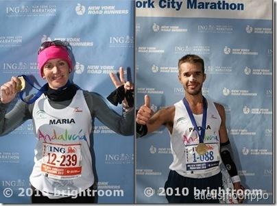 Maraton Nueva York 2010