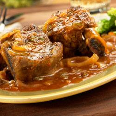 Slow Cooker Picante-Braised Short Ribs