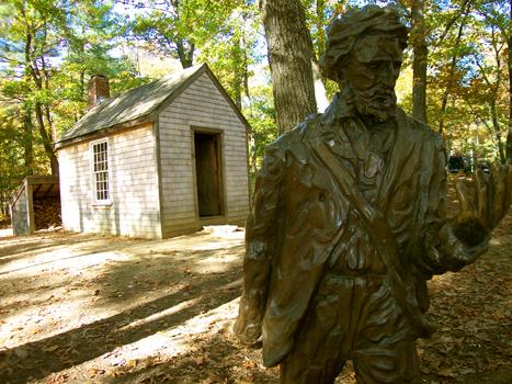 Walden Pond Thoreau Quotes Quotesgram