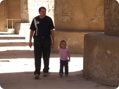 12-19-2009 068 Grandpa & Rachel having a look around