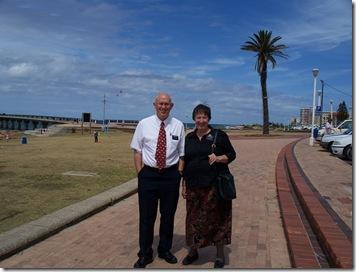 12-01-2009 002 Port Elizabeth - Elder & Sister Miller