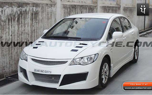 here are two civics modified by autopsyche. coolio honda city modified