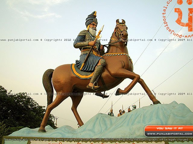 Akali Fulla Singh Ji Nahing Singh Ji Sculpture mehtiana sikhism