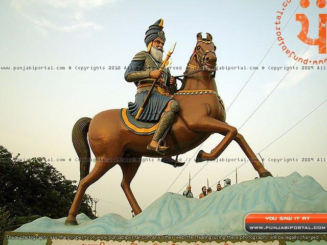 Akali Fulla Singh Ji Nahing Singh Ji Sculpture mehtiana sikhism