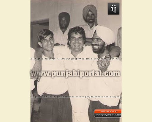 Dharminder Deol at the marriage of the Author at Sahnewal