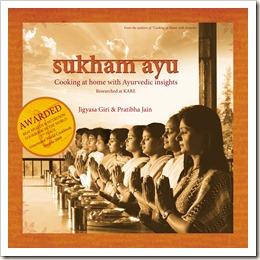 Sukham Ayu Ayurvedic cookbook