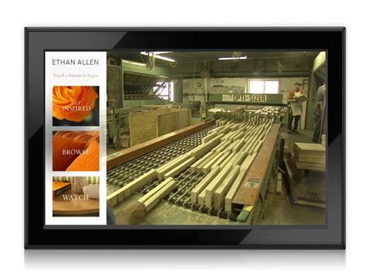 Ethan Allen - Intava Screen Close-Up