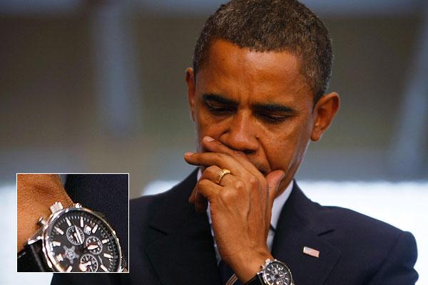 Barako Obamos laikrodis