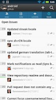 Screenshot of GitHub