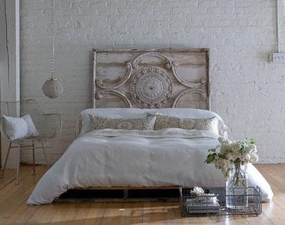 En mi espacio vital muebles recuperados y decoraci n vintage cabeceros para so ar dream - Cabeceros madera vintage ...
