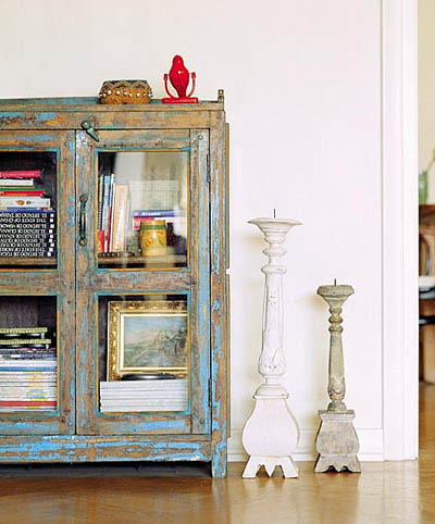 En mi espacio vital muebles recuperados y decoraci n - Muebles envejecidos ...