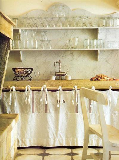 En mi espacio vital muebles recuperados y decoraci n for Cortinas para cocina rustica