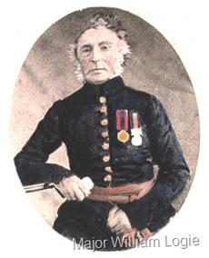 Logie Major William 1719