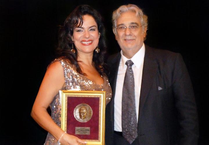 Nancy Fabiola Herrera & Placido Domingo