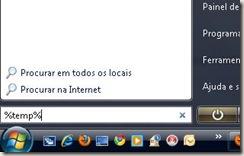 screenshot pesquisar no menu iniciar