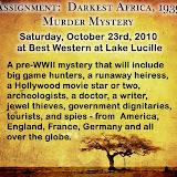 Darkest Africa 1939 Murder Mystery