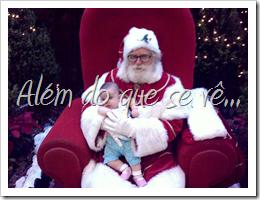com o Papai Noel do Rio Design, Rio de Janeiro
