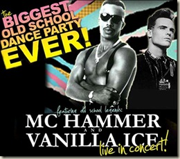 MC Hammer & Vanilla Ice