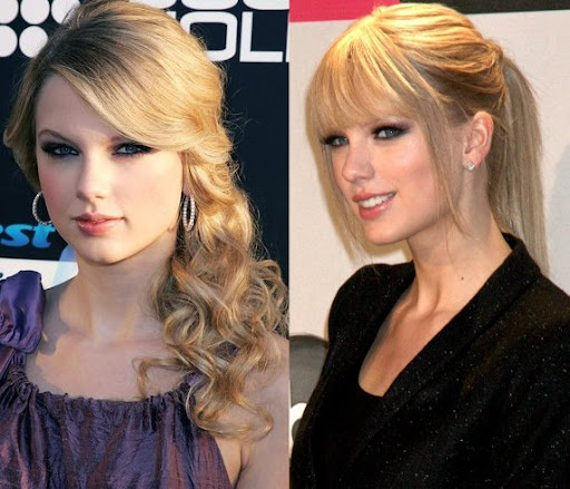 taylor swift ponytail hairstyle