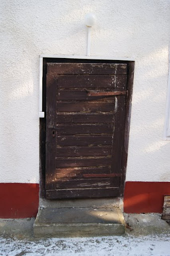 old cellar door