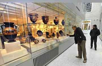 Johns Hopkins opens new museum housing archaeological collection