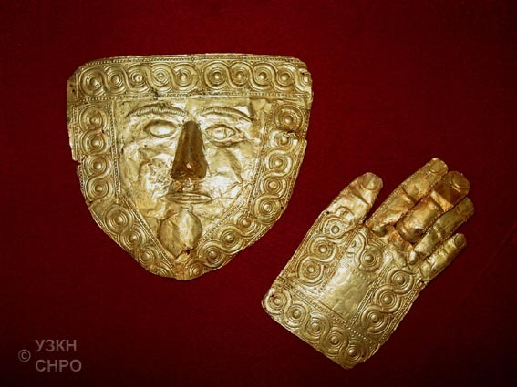 maska15 Ohrids gold mask to be exhibited in the Netherlands