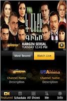 Screenshot of Armenia TV