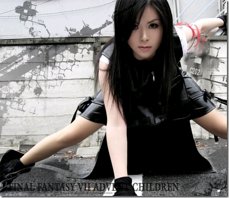 final fantasy vii advent children cosplay - tifa lockhart 05