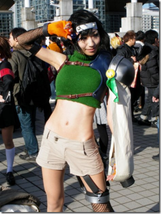 final fantasy vii cosplay - yuffie kisaragi 02