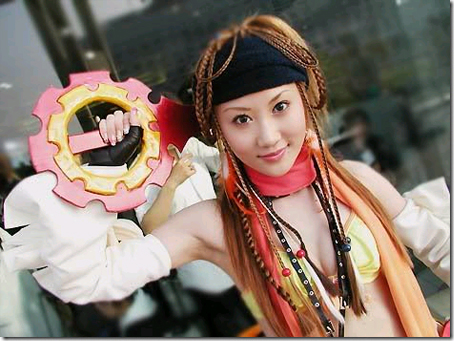 final fantasy x-2 cosplay - rikku 08
