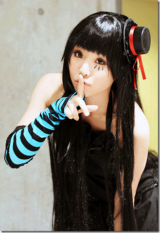k-on! cosplay - akiyama mio