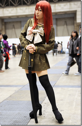 shakugan no shana cosplay - shana 04