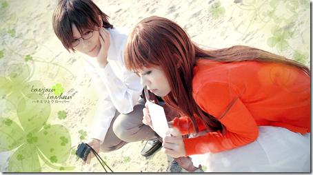 honey and clover cosplay - nomiya takumi and yamada ayumi