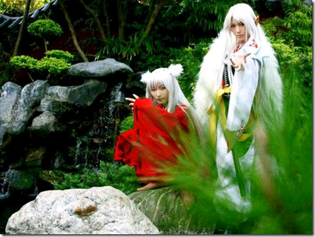 inuyasha cosplay - inuyasha and seshomaru