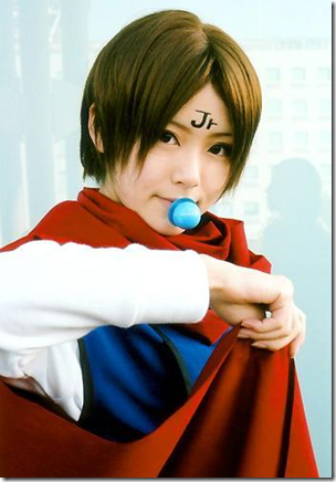 yu yu hakusho cosplay - koenma / king enma jr.