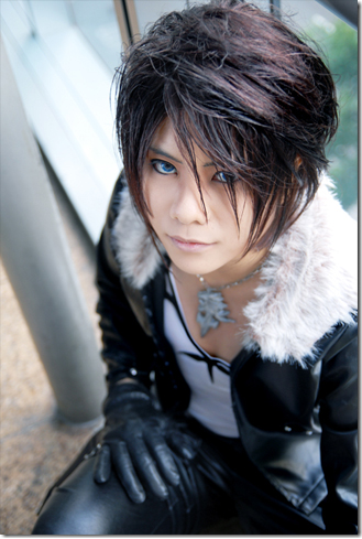 dissidia: final fantasy cosplay - squall leonhart by jesuke