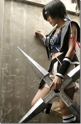 final fantasy vii advent children cosplay - yuffie kisaragi 02