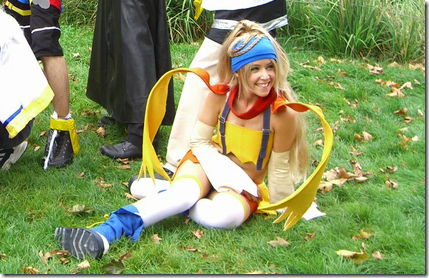 kingdom hearts 2 cosplay - rikku