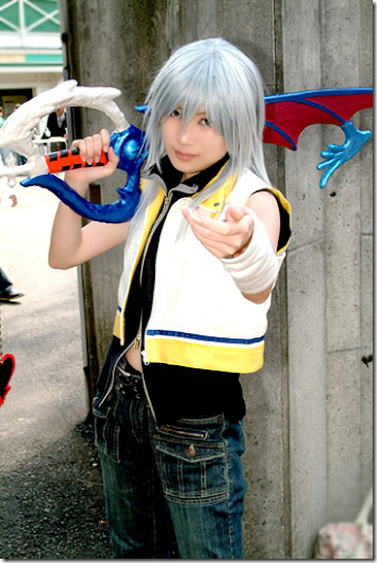 kingdom hearts 2 cosplay - riku 03
