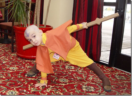 avatar: the last airbender cosplay - aang 02