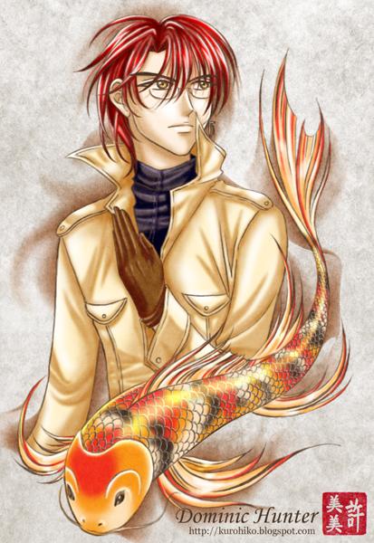 karma character profile - dominic hunter