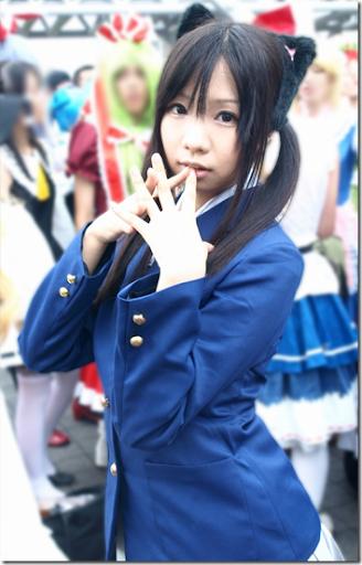 k-on! cosplay - nakano azusa 02 from comiket 2010
