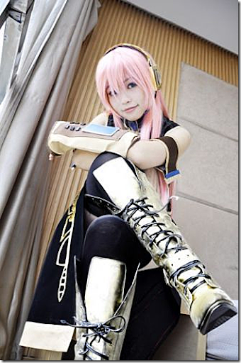 vocaloid 2 cosplay - megurine luka 05