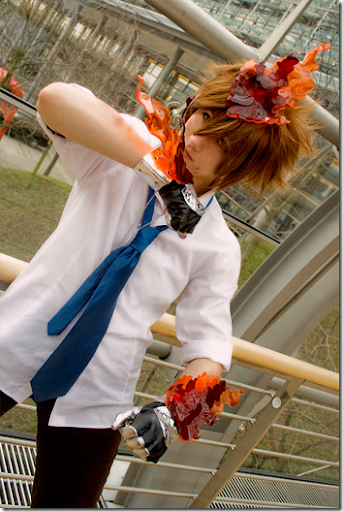 katekyo hitman reborn! cosplay - sawada tsunayoshi 02