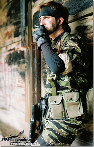 metal gear solid 3: snake eater cosplay - big boss